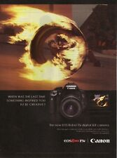 2013 Canon EOS Rebel T5i Digital Camera Advertisement
