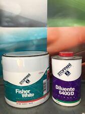 ANTIVEGETATIVA AUTOPULENTE BARCA STOPPANI FISHER WHITE 2,5Lt + DILUENTE 6400/D