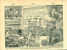 Document ancien boulangerie issu du livre de 1922