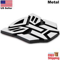 "3D METAL Transformers Emblem Autobots Optimus Prime Car Sticker 3"""