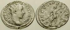 017. Roman Silver Coin. GORDIAN III. AR Antoninianus. East. Emperor stg. aVF