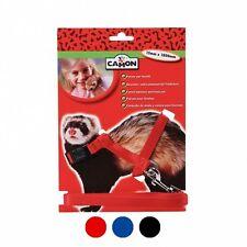 Camon parure pettorina con guinzaglio per furetti colori diversi