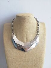 Silver Ethnic Tibetan Indian Mexican Gypsy African Antique Festival necklace
