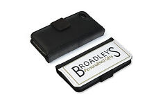 for apple I Phone 5 or 5S personalised black wallet case
