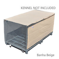 Alion Home© 90% UV Block Dog Kennel Cover - Breathable/Permeable Shade Panel