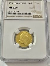 More details for 1796 g britain george iii half guinea ngc ms62+
