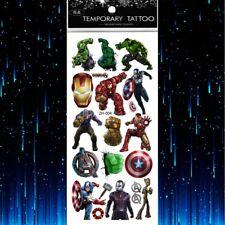 Avengers Tattoo Sheet X 1