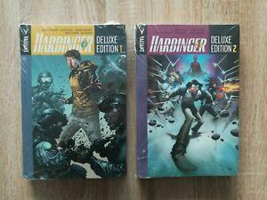 Harbinger - Deluxe Edition 1 - 2 (Valiant comics) RARE SEALED (read description)