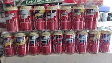 """Serie di lattine coca cola """"AFL rugby"""""""