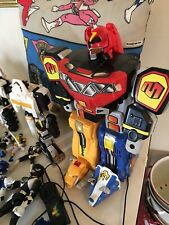 POWER RANGERS Lot of 20 Items toys And VHS Tested Works Megazord MMPR Vintage