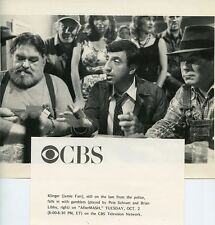 JAMIE FARR PETE SCHRUM BRIAN LIBBY PLAY POKER AFTER MASH 1984 CBS TV PHOTO