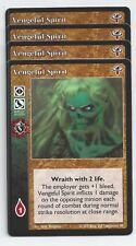 Vengeful Spirit x4 Lost Kindred LK VTES Jyhad
