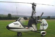Julian Wombat British Autogyro Helicopter Wood Model Replica Small Free Shipping