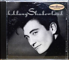 Shadowland (Owen Bradley Sessions) by K.D.Lang [US Import - Sire - 1988] - MINT