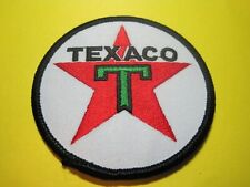 Texaco Uniform Cloth Patch 3 Inch Circle LOOK and Buy