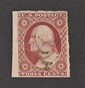 Sc 11a 3c Wash Dull Red With Stitch Watermark Used Sound (FB50)