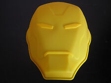 AVENGERS IRON MAN MASK SILICONE BIRTHDAY CAKE PAN CANDY MOLD PARTY SUPPLIES
