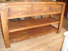 RUSTIC PLANK CONSOLE TABLE     HAND MADE   *FULL RANGE*