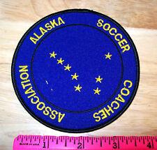 Embroidered Alaska Patch - Alaska Soccer Coaches association - Big Dipper NICE!