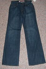 GAP Blue Denim Essential Fit Wide Leg Jeans Size 1 Regular Juniors NWT