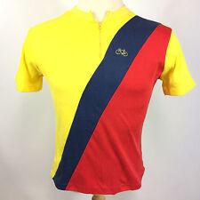 Rare Vintage 70s 80s Penneys Bicycle Racing T Shirt Jersey Cotton Stripe Tour De