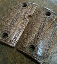 """Mahogany Wood Grips """"The Gentleman"""" - Will fit Sig Sauer P938"""