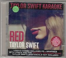 TAYLOR SWIFT - red , karaoke edition CD