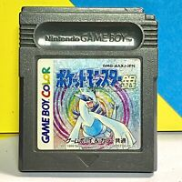 Pocket Monsters Silver Pokémon Game Boy Colour Jap JP Jpn Gameboy