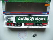 Corgi CC13415 MAN TGA XXL Curtainside Trailer - Eddie Stobart.