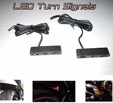 Motorcycle Turn Signal Blinker Rear Front Mini Micro Stealth Bike Cycle Moto CBR
