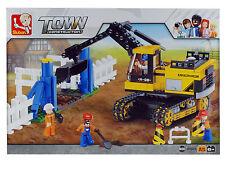 SLUBAN M38-B0551 Bagger mit Baustelle TOWN Construction Klemmbausteine Neu+OVP