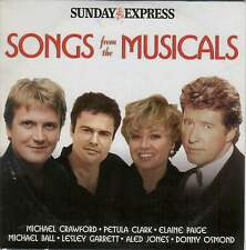 SONGS FROM THE MUSICALS - PROMO CD (2005) MICHAEL BALL, ELAINE PAIGE, ALED JONES