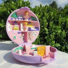 Mini Polly Pocket Polly's Flat Wohnung Landhaus House 100% Komplett Bluebird