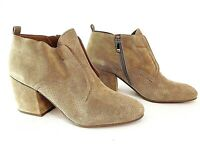 Franco Sarto Alfie Sandstone Leather Women's Bootie Size 10 M