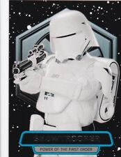 X Snowtrooper 2016 Topps Star Wars Force Se Réveille, Power Of The First Order