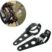 35mm-43mm Headlight Brackets Fork Mount For Harley Kawasaki Honda Yamaha Ducati
