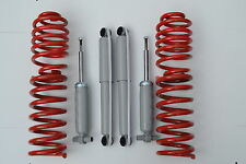4 LOWERING SPRINGS 4 SHOCK T2 T3 TRANSPORTER SUSPENSION KIT T25 60-40mm  BUS