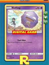 Ribombee Playset DIGITAL ptcgo in Game Card - for Pokemon TCG Online 4x