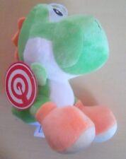 "New Super Mario Bros Green Yoshi 7"" Plush Doll Stuffed Animal Figure Nintendo"