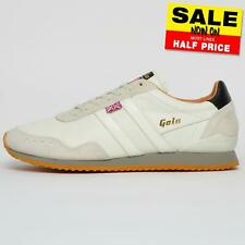 Gola Classics Men's Made in England 19 Track Leather 317 Exclusive Trainers