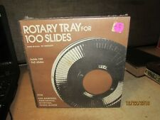 VINTAGE NOS AIREQUIPT 100 ROTARY SILDE TRAY 2X2 SLIDES FOR GAF SAWERS KEYSTONE