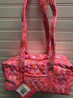 Vera Bradley Retired Rare New Hope Toile Classic 100 Handbag Pinks