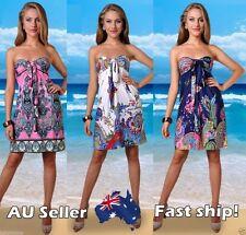 Paisley Polyester Regular Summer/Beach Dresses for Women