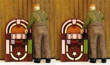 Jukeboxes vintage S scale Diner-vending details S Scale 2 included 1/64 scale