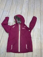 Girl Pink Craghoppers Aquadry insulated winter coat jacket Age 9-10 Walking Tain