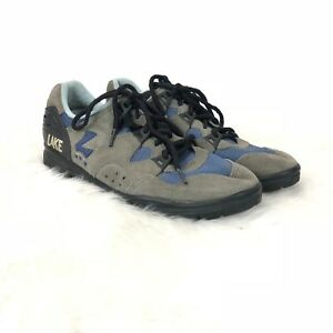 Lake Cycling 7 Womens Taupe Blue Bicyle Cycling Shoes