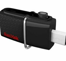 SanDisk SDDD2-064G-A46 Ultra Dual USB 3.0 64GB Flash Drive (Black)