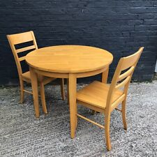 Julian Bowen Consort Honey Pine Finish Dining Table set solid Malaysian hardwood