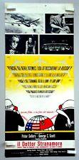 IL DOTTOR STRANAMORE di STANLEY KUBRICK- P. SELLERS - LOCANDINA ORIGINALE 1964 -
