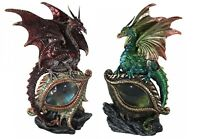 Eye of the Dragon Red or Green 21cm Gothic Nemesis Now Figurine Ornament Gift